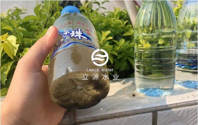 你家排的污水是斜管沉淀池这洗白后再次使用的
