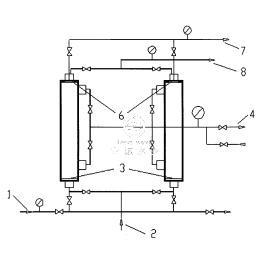 气驱膜分离方法以及膜分离装置