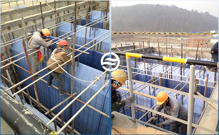 KY007斜板安装现场施工图