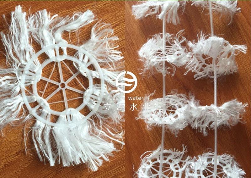 组合纤维填料