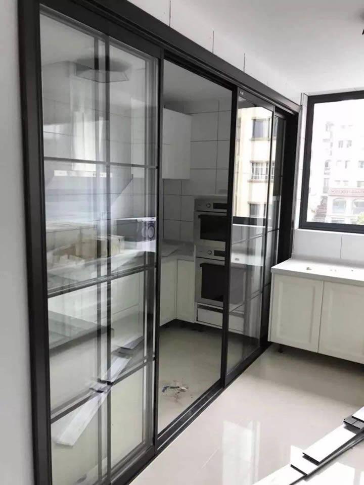 铝合金推拉门 厨房玻璃门