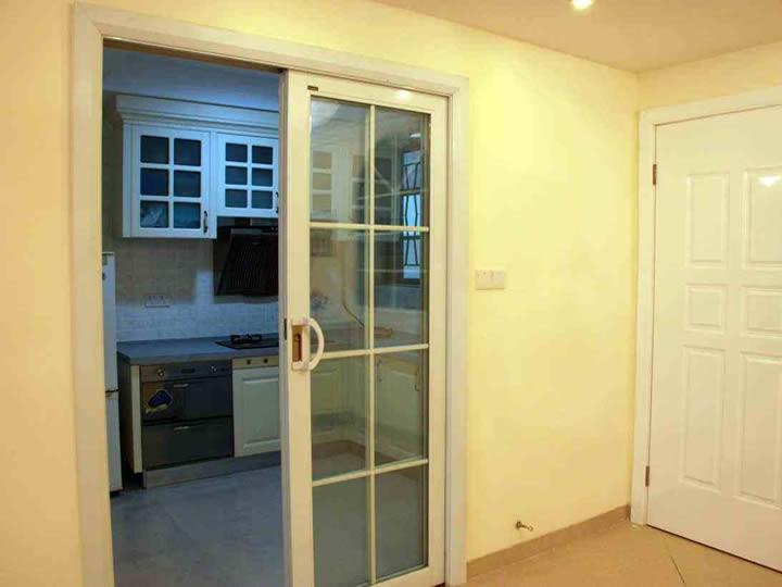 厨房玻璃门 铝合金玻璃推拉门