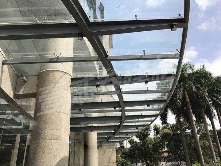 钢结构雨蓬 钢结构天蓬