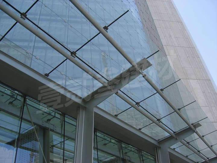 雨蓬 不锈钢雨蓬 钢结构雨蓬