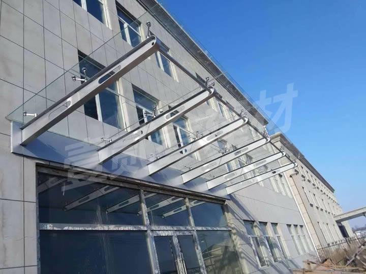 雨棚 钢结构雨棚
