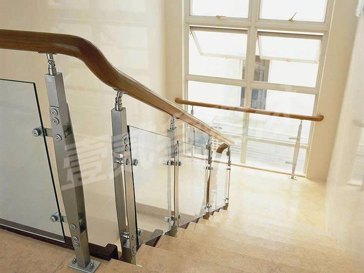 楼梯扶手 不锈钢玻璃扶手