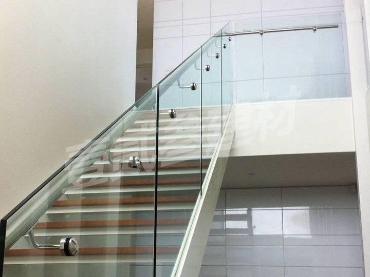 楼梯护栏 不锈钢玻璃护栏