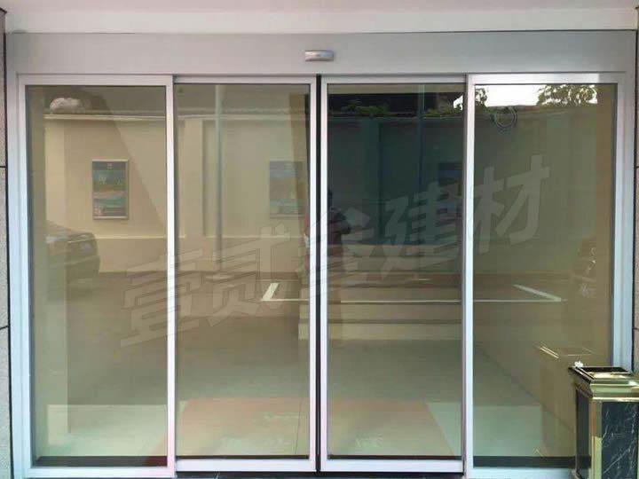 自动感应门 自动玻璃感应门