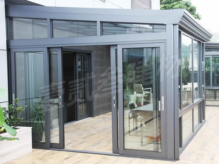 阳光房 阳光棚 玻璃遮阳棚