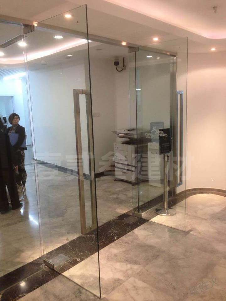 办公室玻璃门 玻璃推拉门