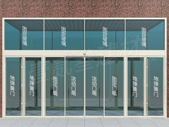 南宁玻璃自动门【怎样设计自动门的门扇尺寸?】