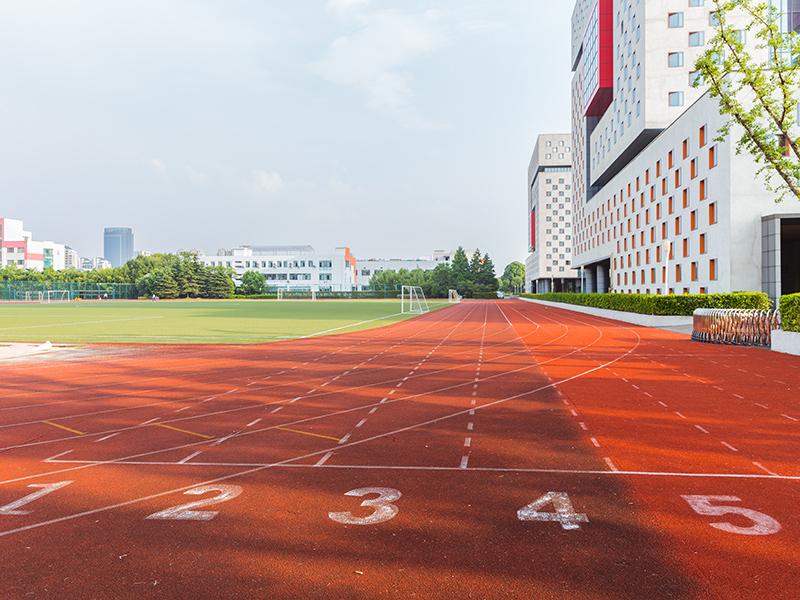 校园橡胶跑道