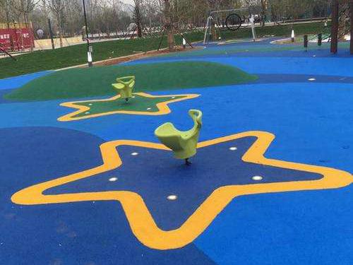 城市公园塑胶地坪