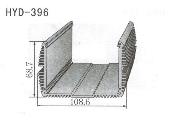396控制器、机箱壳