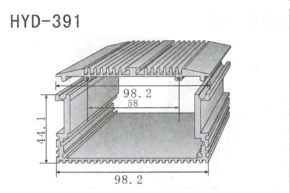 391控制器、机箱壳