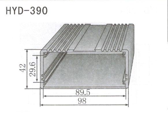 390控制器、机箱壳