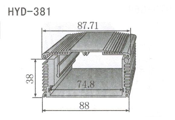 381控制器、机箱壳