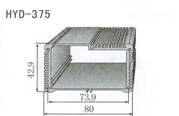 375控制器、机箱壳