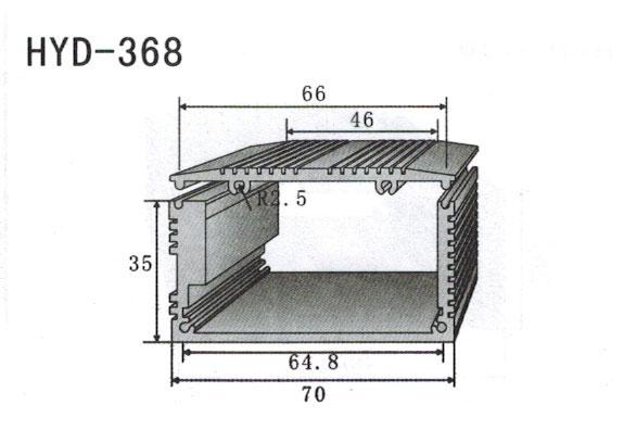 368控制器、机箱壳散热器