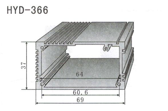 366控制器、机箱壳散热器