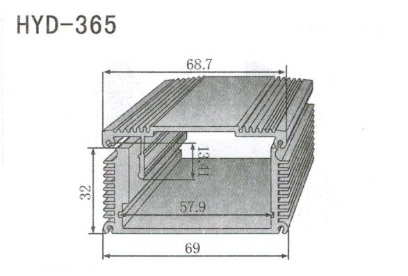 365控制器、机箱壳散热器