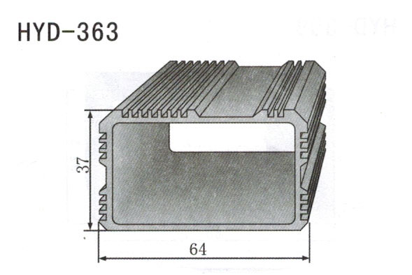 363控制器、机箱壳散热器
