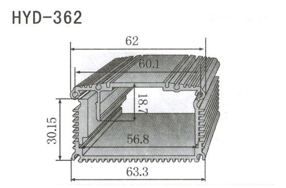 362控制器、机箱壳散热器