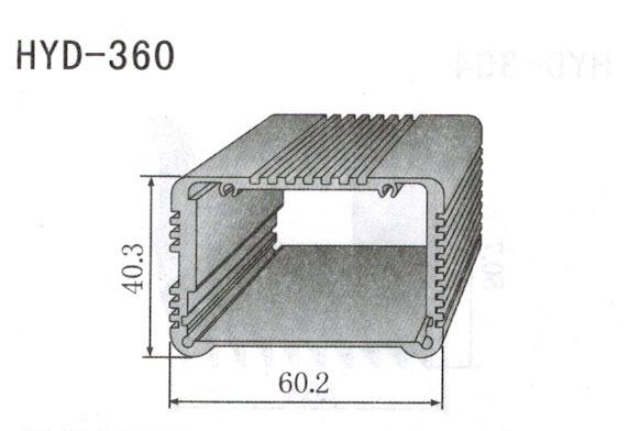 360控制器、机箱壳散热器