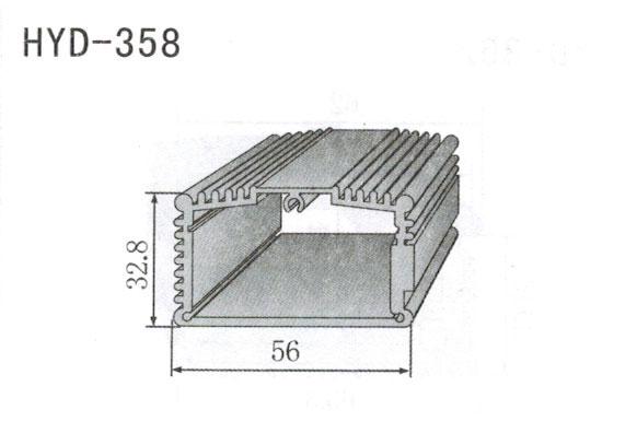 358控制器、机箱壳散热器