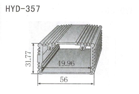 357控制器、机箱壳散热器