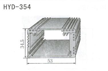 354控制器、机箱壳散热器