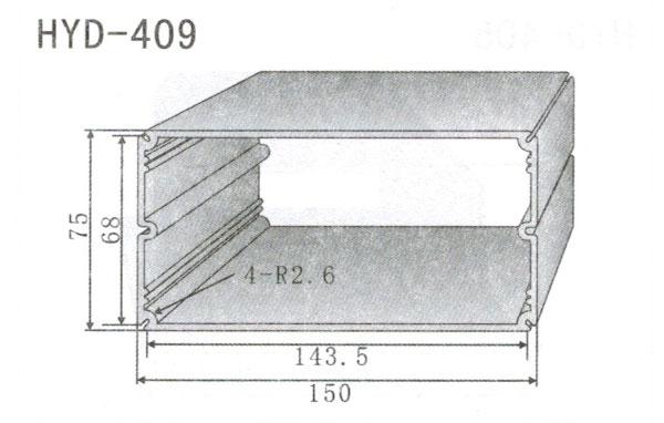 变频器配套插片散热器409