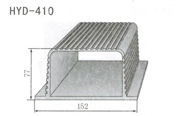 变频器配套插片散热器410