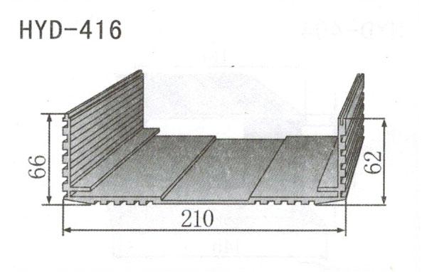 变频器配套插片散热器416