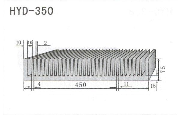 40-50cm型材散热器350