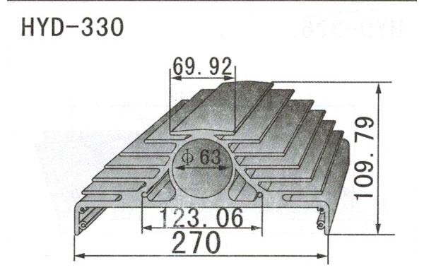 26-29cm型材散热器330