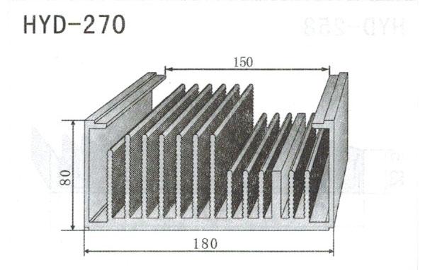18m型材散热器270