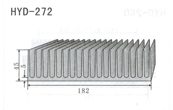18m型材散热器272