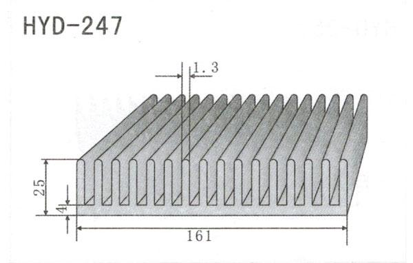 16cm型材散热器247