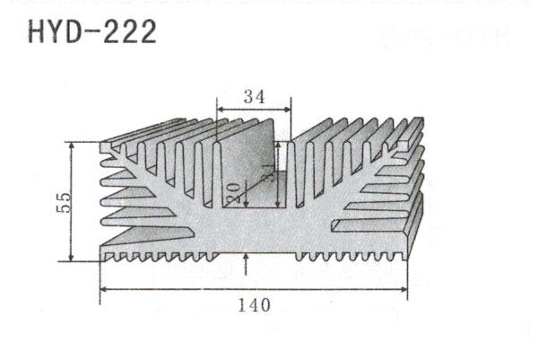 14cm型材散热器222