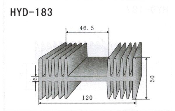 12cm型材散热器183