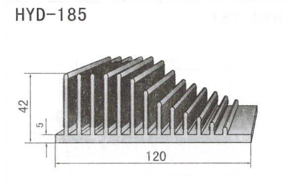 12cm型材散热器185