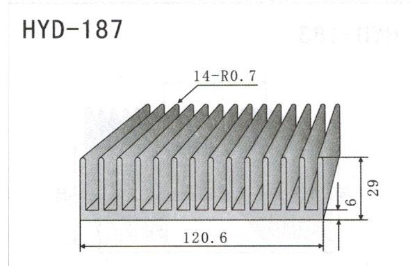12cm型材散热器187