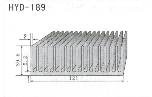 12cm型材散热器189