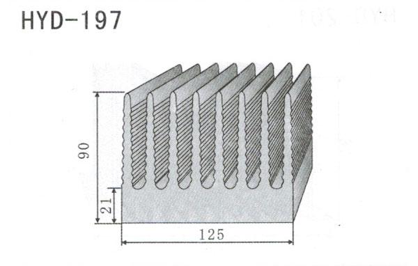 12cm型材散热器197