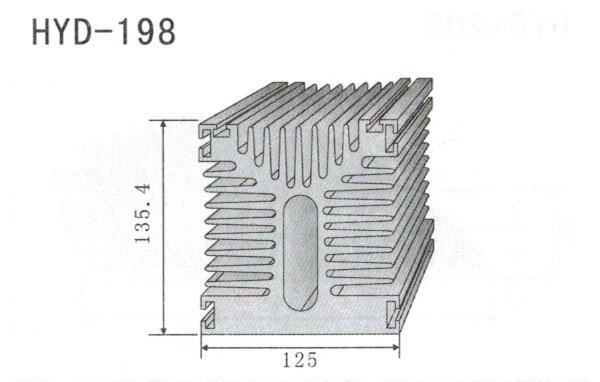 12cm型材散热器198