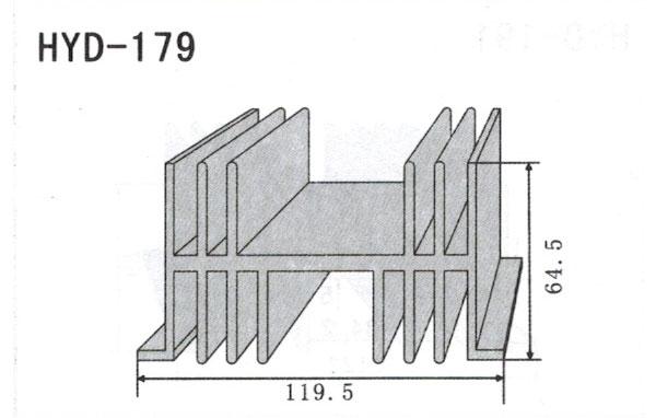 11cm型材散热器179