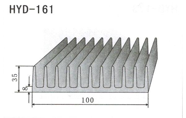 10cm型材散热器161