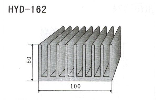 10cm型材散热器162