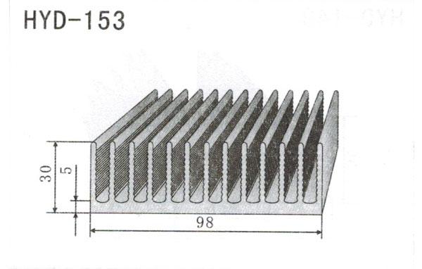 9cm型材散热器153